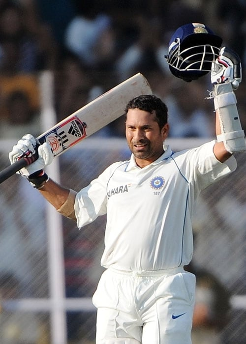 <b>Year 2009, 88th Century:</b> Sachin celebrated his 20 years in Test cricket with an unbeaten 100 runs in the second innings of the first Test against Sri Lanka in Ahmedabad in December 2009. There were seven centuries scored in that match. Failing to score in the first innings, Sachin scored a subdued 298-ball 100 runs in the second.