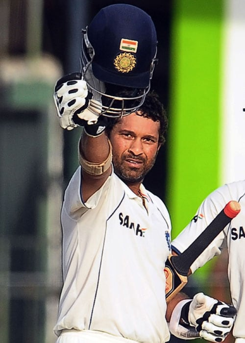 <b>Year 2010, 94th Century:</b> Sachin Tendulkar once again came to his country's rescue and raised hopes of salvaging the second Test. Tendulkar struck his 48th Test century and went on to score his 5th double century. Suresh Raina notched up a century on debut on the fourth day of the Test.