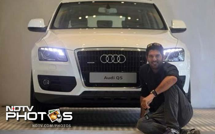 <b>Yuvraj Singh:</b> The man of the series at the 2011 World Cup added an Audi Q5 to his collection of cars after the German car maker gifted him one for his stupendous show at the mega event. Earlier, Yuvraj had also been presented a Porsche 911 for hitting six sixes in an over at the inaugural T20 World Cup in 2007, by the then BCCI vice-president Lalit Modi.