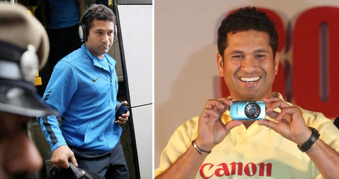 Of course the living legend's favourite gadget is an iPod, the first thing that goes into his bags every time he leaves for a cricket tour. He also carries video camera and still camera just to be able to preserve all his living moments that would serve as beautiful memories in the long run.
