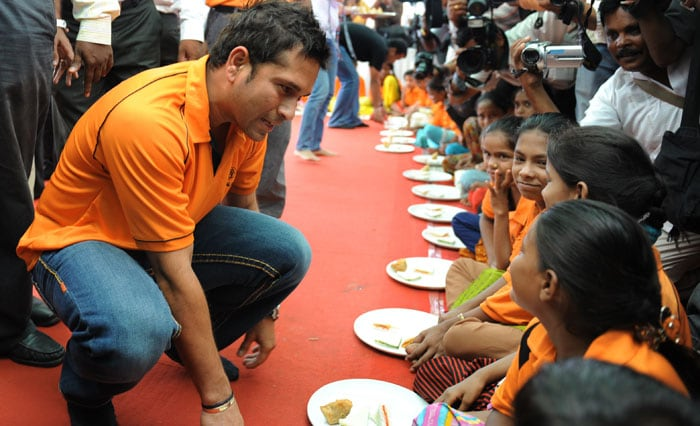 Despite attaining his iconic status, Sachin's feet are firm on the ground. His simplicity has perhaps been his greatest virtue.<br><br>Tendulkar sponsors 200 underprivileged children every year through Apnalaya, a Mumbai-based NGO associated with his mother-in-law, Annaben Mehta.