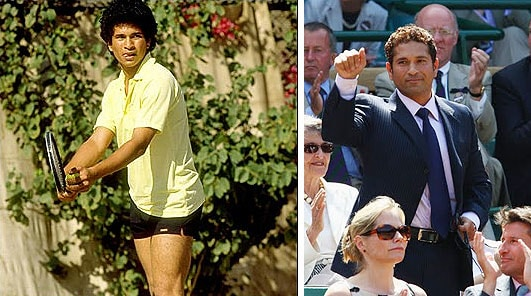 Besides cricket, Tendulkar's idol is the American Tennis superstar-John McEnore. During his young age, he argued and fought for McEnore with his colony friends who supported Swedish Bjorn Borg. Sachin sported a head-band, sweat-band and a tennis racquet showing his staunch loyalty towards his idol.