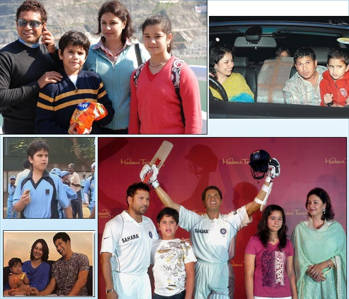Tendulkar is blessed with two children. His daughter Sara was born on 12 October 1997 and his son, Arjun on 24 September 1999. Despite all the fame and adulations, Sachin does not allow anyone to intrude and intervene in his private life.
