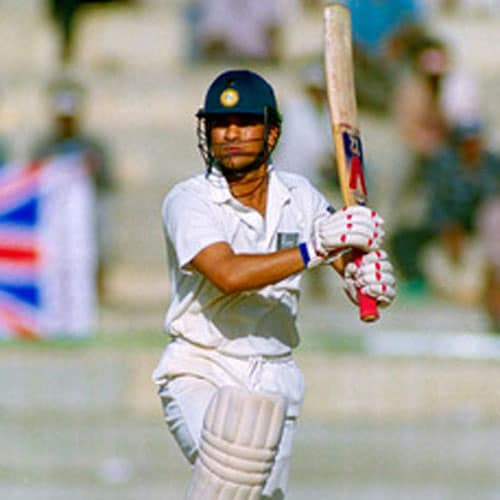 <b>114 vs Australia, Perth (1992)</b><br><br> His 114 vs Australia on a fast and bouncy Perth track, against some quality fast bowling in 1992, is another knock that the master blaster himself rates very highly.