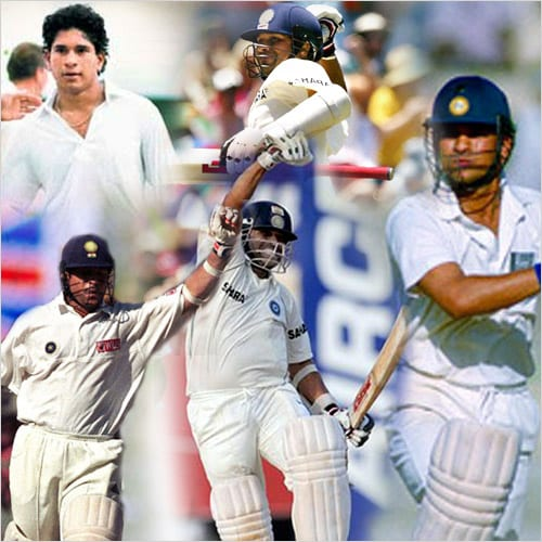 The 2nd India-New Zealand Test match starts on the same day as the Asian Games and just as there are medals to look forward to from China, there is Sachin Tendulkar's 50th Test ton to look forward to from Hyderabad! Well, we hope anyway! so as he approaches 50, NDTVCricket a look at some of his top test innings from his 21-year career.