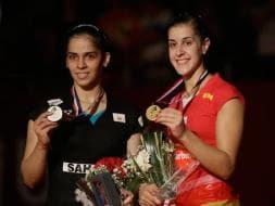 Photo : Saina Nehwal Settles for Silver in World Badminton Championships