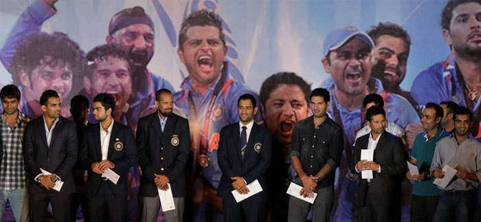 A big cheer for Team India!