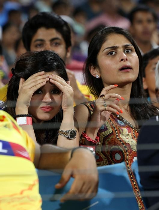 Sure, there were some tense moments in the match like in every T20 clash. (BCCI image)