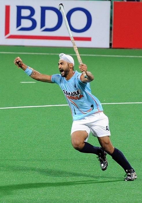 Born on February 27, 1986 to Gurcharan Singh and Daljit Kaur, Sandeep hails from Shahabad town in Kurukshetra. His elder brother, Bikramjeet Singh, is also a hockey player. (AFP Photo)