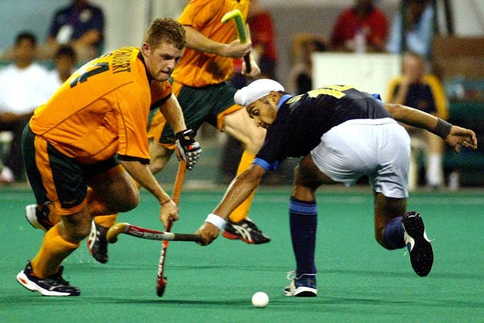 Known for his genial nature, Sandeep made his international debut in 2004 in Sultan Azlan Shah Cup in Kuala Lumpur. (AFP Photo)