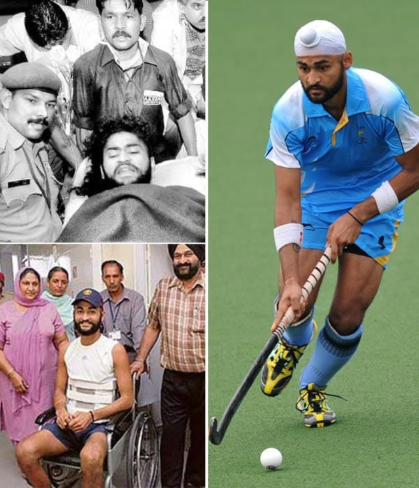 In August 2006, he was seriously injured in an accidental gunshot. He was on his way to join the team due to leave for the World Cup when he was shot on a train.
