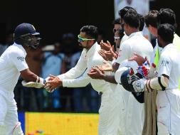Kumar Sangakkara Gets Guard of Honour From Team India