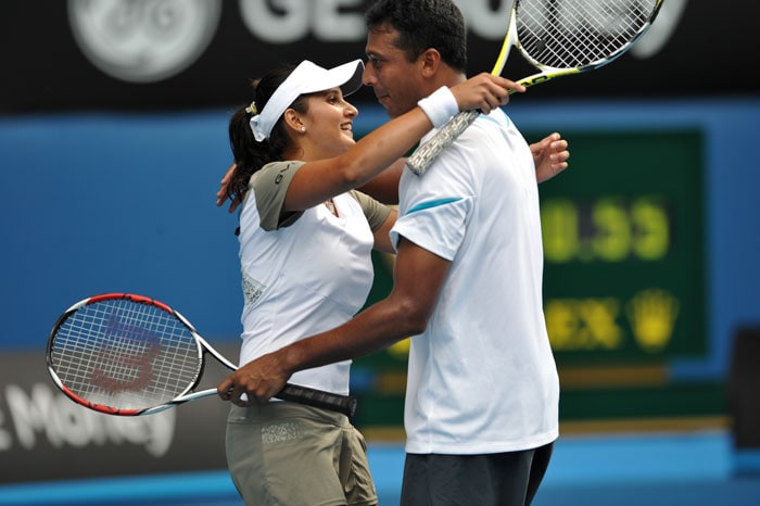 In 2009, Sania won the US Open Mixed Doubles title with Mahesh Bhupathi.