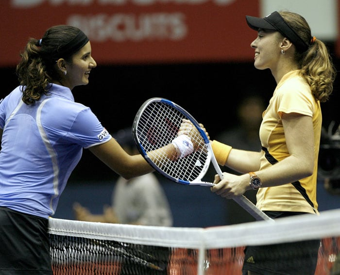 In 2006, Sania drew applause from everyone after she defeated one-time champion Martina Hingis. Her first WTA title came in 2005 when she defeated Ukraine's Alyona Bondarenko in the Hyderabad Open Finals.