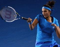 Photo : Aus Open: Sania Mirza keeps Indian flag flying high, Sara Errani-Roberta Vinci win doubles title