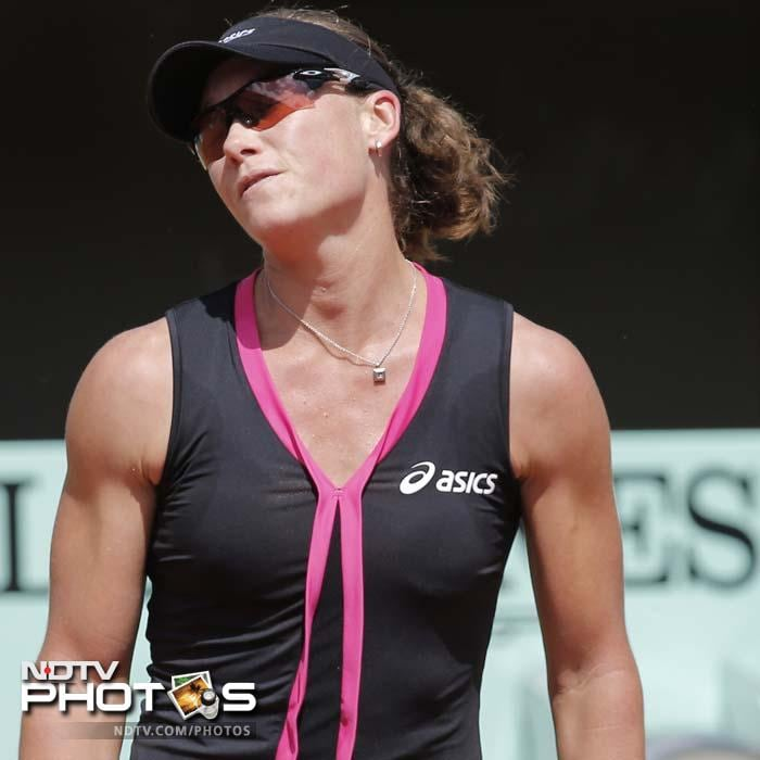 US Open champion Stosur was bidding to become the first Australian woman to win the French Open title since Margaret Court in 1973. She had won their five previous encounters but fell short on Thursday.