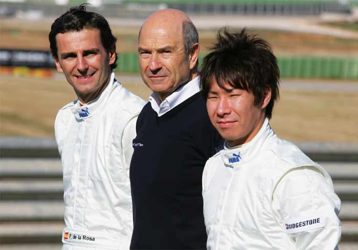 The driving force behind the team, Peter Sauber - the team principal and owner - has chosen to retain Kamui Kobayashi and inducted debutant Mexican driver Sergio Pérez, to partner the Japanese racer. (Getty Images)