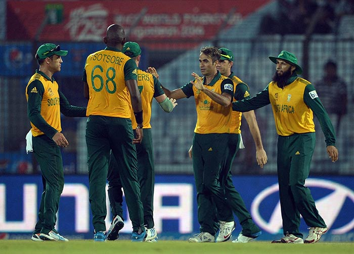 In the end, South Africa held on to their nerves and eked out a six-run win over Netherlands.