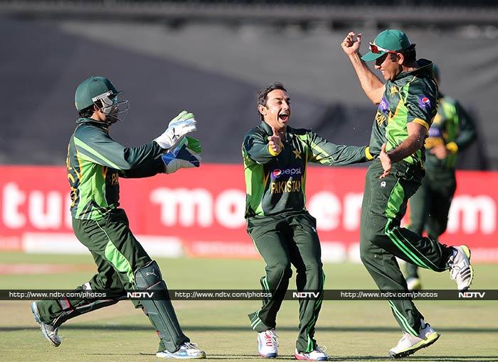 Saeed Ajmal was again the best Pakistan bowling, taking two for 34 in 10 overs.