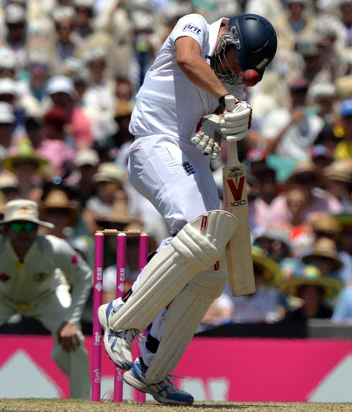 England batsman Gary Ballance, who was hit on the helmet during his 51-ball 18-run knock is one of the three debutants that England are playing in the final Ashes Test. Right-arm pacer Boyd Rankin and spinner Scott Borthwick are the other two players making their debut in this game.