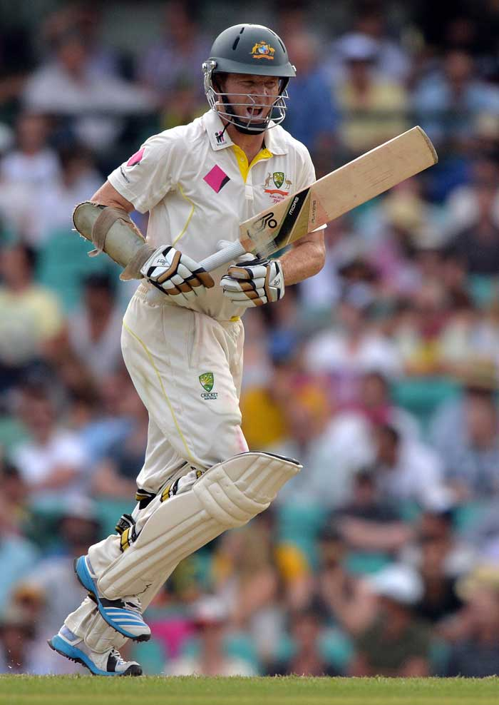 However, a solid 73-run unbeaten knock by opener Chris Rogers help Australia take full control of the Sydney Test with a 311-run lead after end of Day 2.