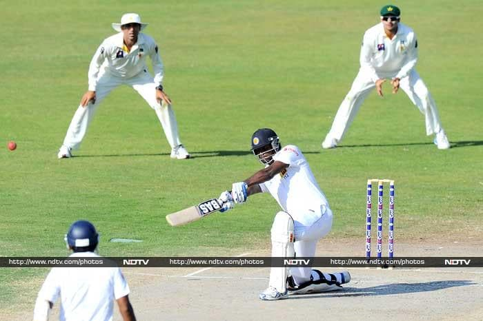 Angelo Mathews stroked a beautiful 91 for his team.