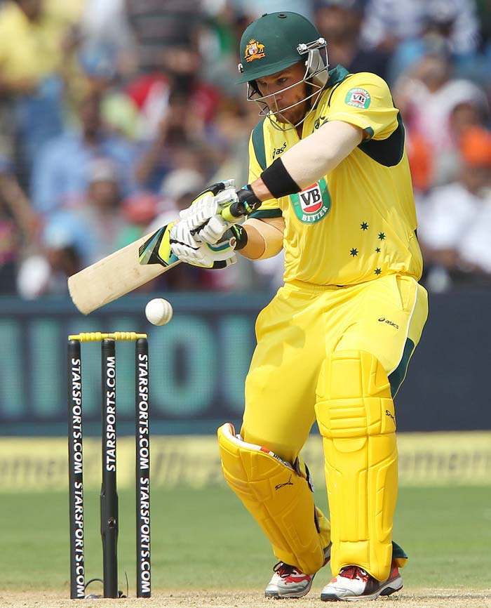 Aaron Finch led the way with a brisk 72.