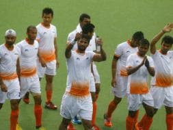 Photo : CWG: India Settle For Silver in Men's Hockey