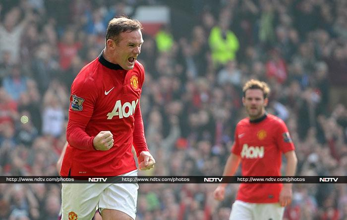 EPL: Manchester United overcome Villa, Chelsea lose to Palace