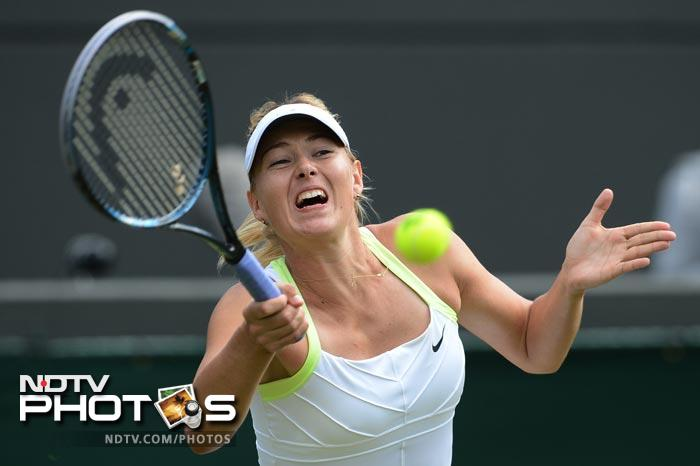 Maria Sharapova made short work of her opponent in the third round with a convincing 6-1, 6-4 win over Su-Wei Hsieh.
