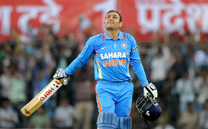 <b>Amrish:</b> A Colossal Innings by <i>Veeru Paaji</i>! You have taken Indian Cricket to a new Pinnacle....Long Live Sehwag!