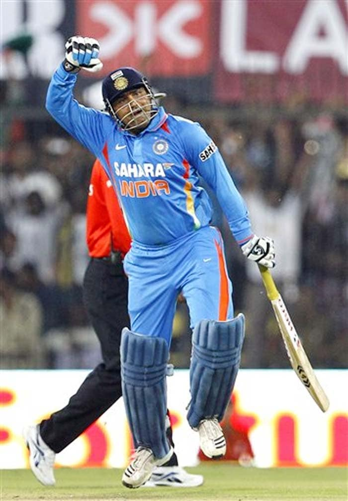 <b>Sandeep Ggaur:</b> I thought 250 was also not far from your reach. Better Luck Next Time. But then you were the only one to break the record of Sachin. Hats off to you.