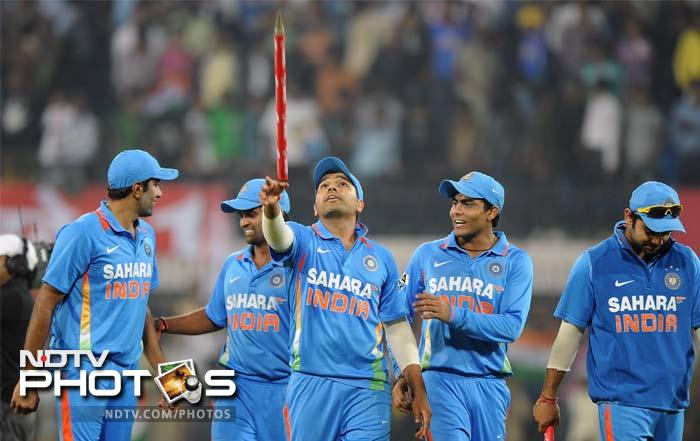 India became the first nation to register four totals of 400 or more in ODIs - one each against West Indies, Sri Lanka, Bermuda and South Africa.