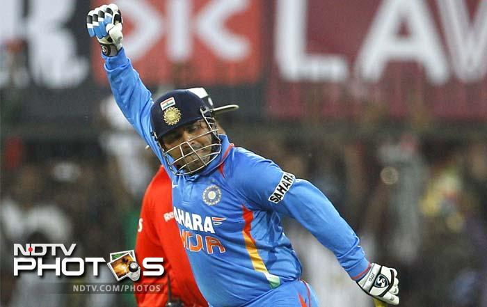 Several records, including Virender Sehwag's double century, were made and broken in the fourth ODI between India and the West Indies at Indore. Here are 10 special statistics from the memorable match.