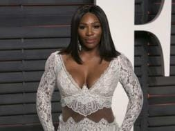 Busty Display By Serena Williams At Vanity Fair Oscars
