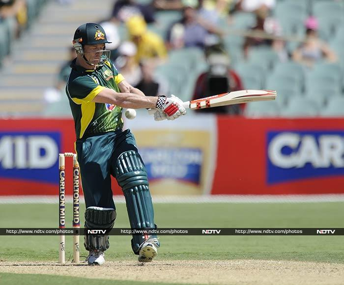 George Bailey led the way for Australia with 56 runs.