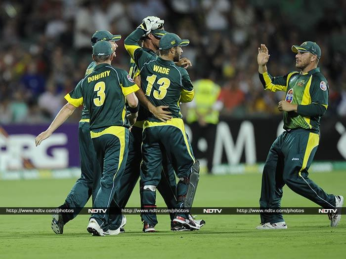 Australia defeated England by five runs to clinch the ODI series 4-1. They also regained their top spot in the ICC ODI rankings ahead of India. (AP/AFP Photos)