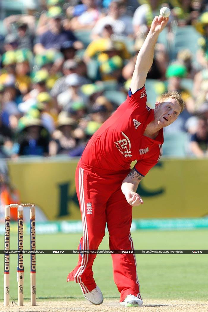 Ben Stokes gave Broad good support as he notched up figures of 3 for 45.