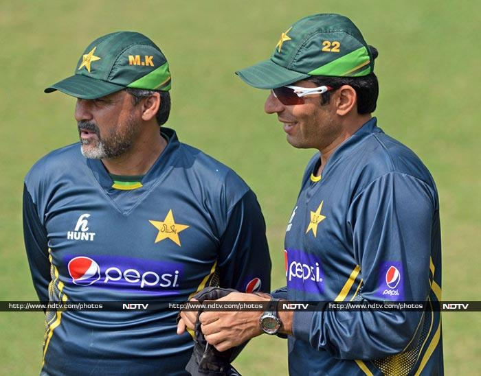 Pakistan will take on Sri Lanka as they kickstart their defence in the opening match. (AP/AFP)