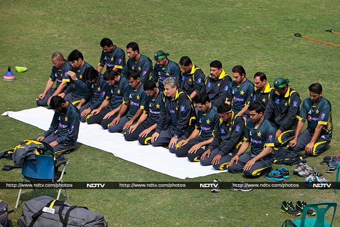 While they do have what it takes to win, Pakistan are aware of the greater power. The entire team ask for blessings from the Almighty in order to perform at their best.