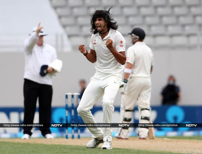 Ishant would finish with figures of 6 for 134 as he led the charge for India.
