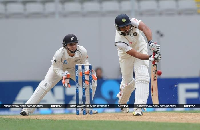 Rohit Sharma chose this opportunity to find some lost form as he played his way to a fluent fifty.