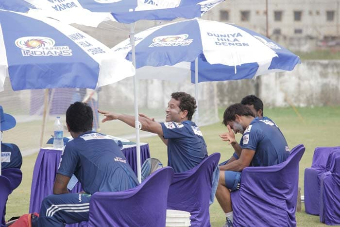 Mental and physical preparation for the CLT20 is highlighted by Mumbai in their team talk.