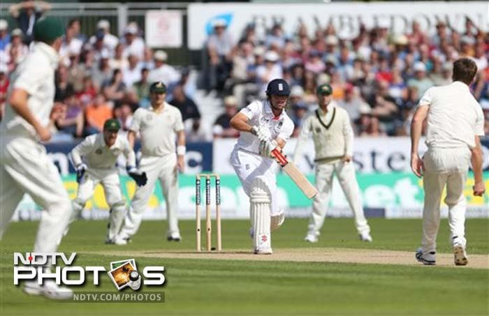 Alastair Cook led by example with a good 51.