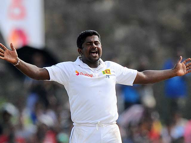 1st Test: Kumar Sangakkara, Rangana Herath Script Seven-Wicket Win for Sri Lanka