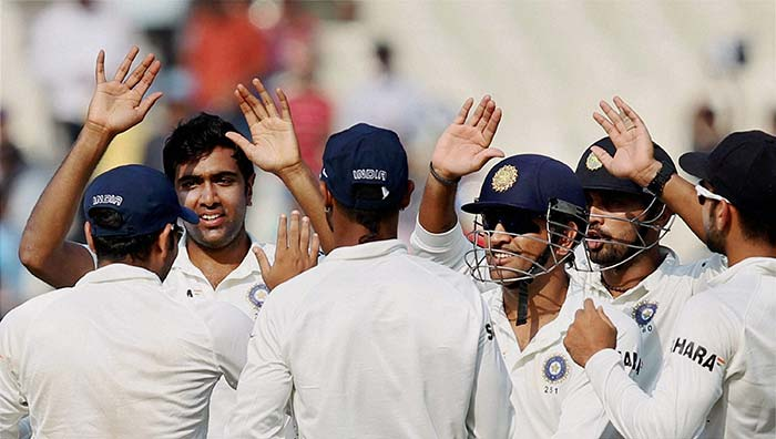 Ashwin too provided an excellent all-round show, with a century and five wickets in the match to his name. (PTI image)