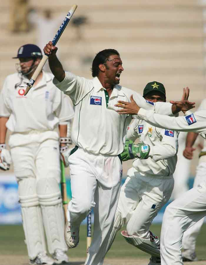 It was not just with opponents and PCB. Akhtar had his fair share of tiff's with fellow players as well. He allegedly hit Asif with a bat in 2007 for disagreeing with his view that Akhtar and Imran Khan shared the same stature in Pakistan!(Getty Images)