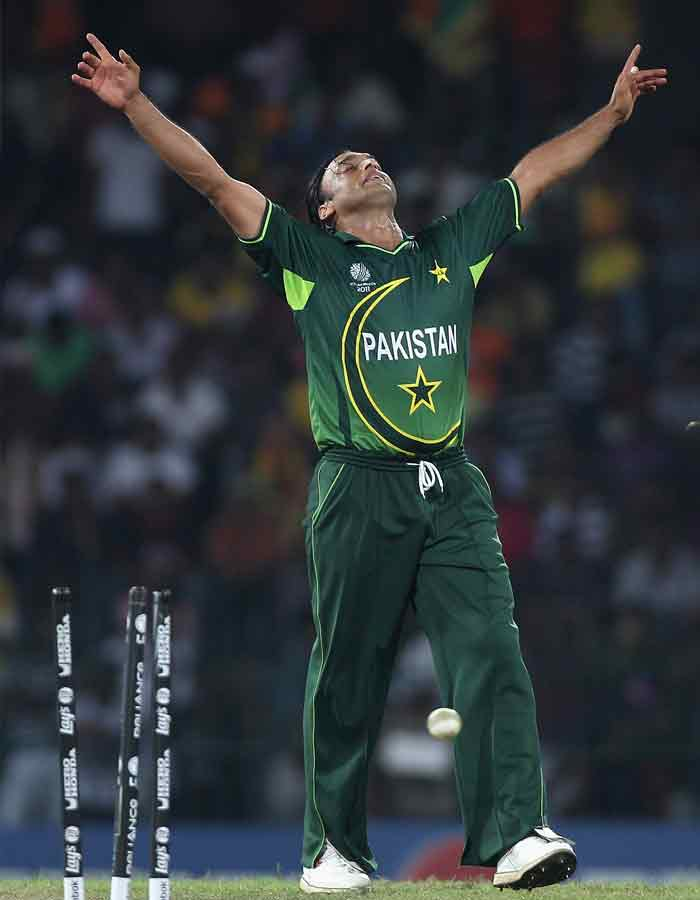 There is no denying however that Shoaib Akhtar has left a deep impact on cricket through his unconventional ways. In this World Cup, he is yet to explode to his full form. With retirement round the corner, expect him to leave with a bang as well. (Getty Images)
