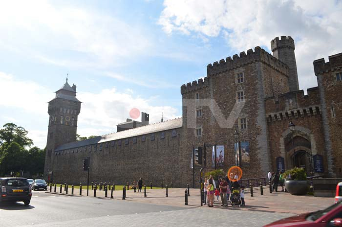 The Cardiff castle was built by Norman invaders to Britain in the 11th century. Standing for a thousand years, the castle now serves as a venue for musical performances and festivals.