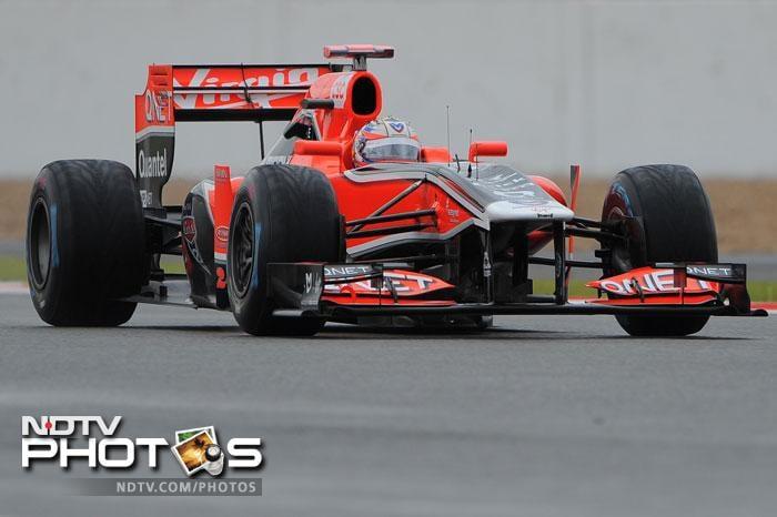 Virgin Racing's Timo Glock will start in 20th spot.